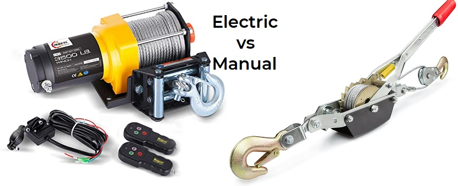 Recovery Winch – Manual Or Electric?