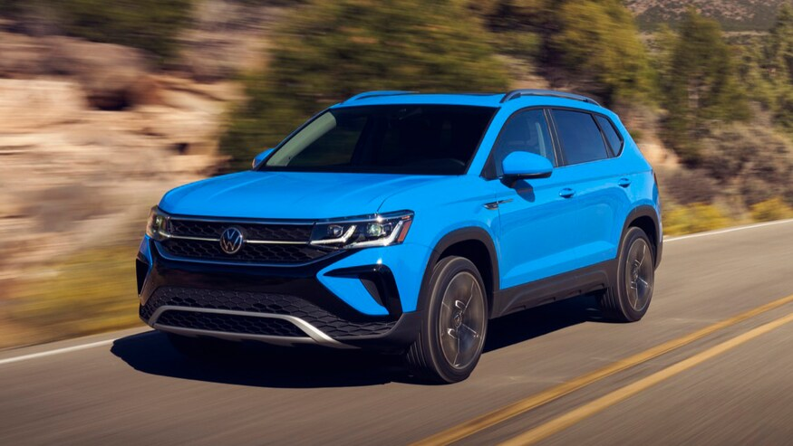 2022 Volkswagen Taos – US Smallest VW Crossover