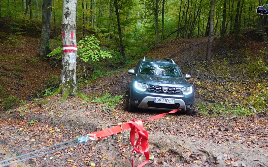 Dacia Duster Extreme 4×4 Offroad Manual Winch Test